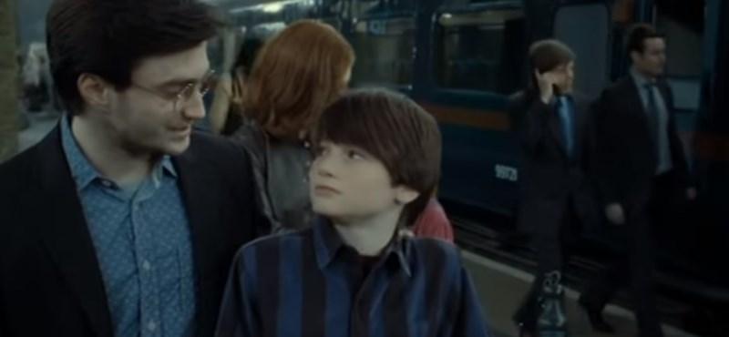 Harry Potter fia ma kezd a Roxfortban