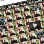Ilyen lesz az új Youtube lejátszó (videó)
