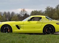 Szuperritka, korát megelőző elektromos Mercedes-AMG-t kínálnak eladásra