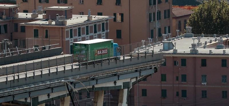 Húsz ember ellen nyomoznak a genovai hídomlás ügyében