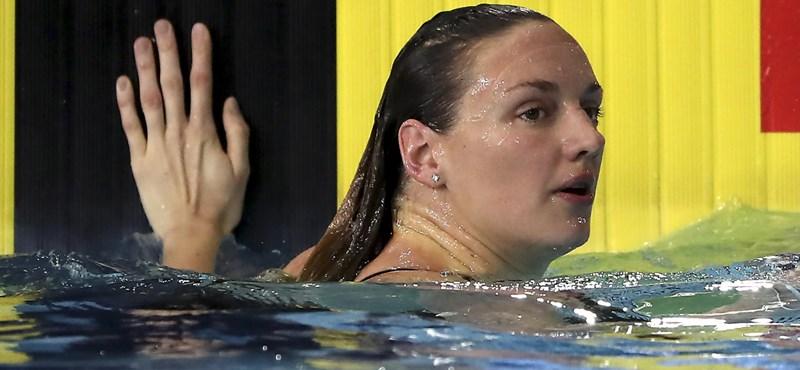 Úszó Európa-kupa: Hosszú Katinka bronzérmet nyert a második napon