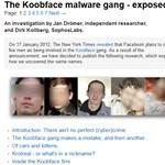 Leleplezték a hackereket, leállt a Facebook-féreg