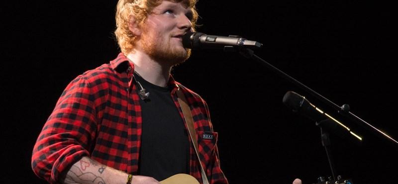Kivételesen a politikáról is beszél Ed Sheeran