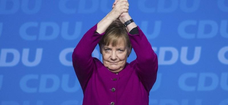Angela Merkel újra kancellár