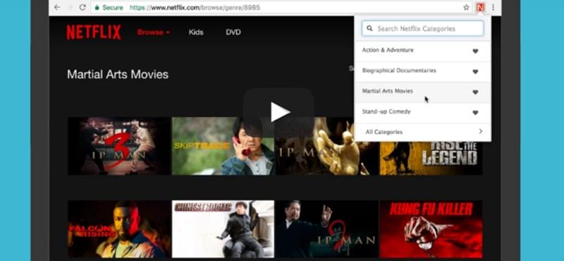 Titkos kategóriák a Netflixen? Így találhatja meg ezeket