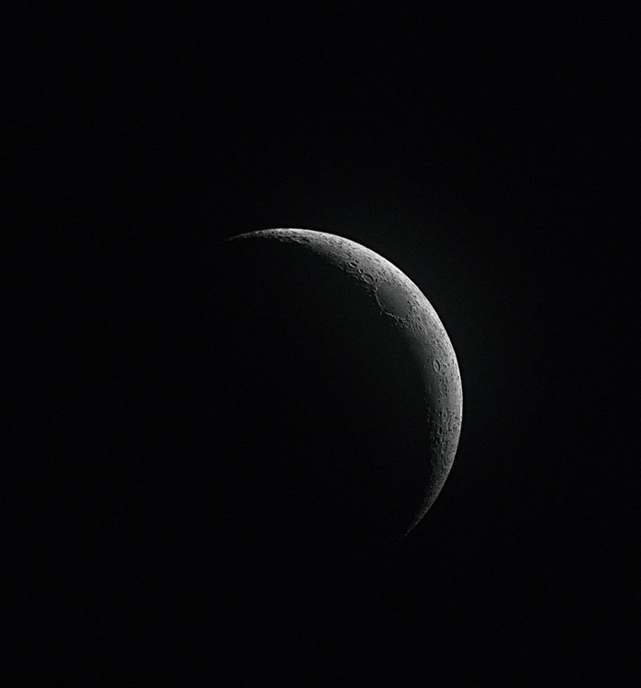 ''oung Astronomy Photographer of the Year'' kategória: The Waxing Crescent Moon . - Brit Királyi Obszervatórium, Astronomy Photographer of the Year 2013.