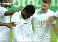 Megrovást kapott a Fradi labdarúgója, aki a pólóján üzente: Igazságot George Floydnak