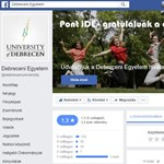 Még mindig nem rendeződött a helyzet a Debreceni Egyetem Facebook-oldalán