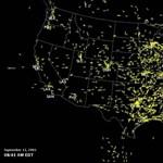 Így ürítették ki az amerikai légteret 2001. szeptember 11-én – videó