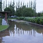 Özönvízfotók: Két Balaton volt tegnap Lellén