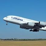 Ferihegyen járt a világ legnagyobb utasszállító gépe, az Airbus A380