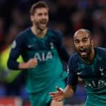 A 96. percben sokkolt, BL-döntős a Tottenham