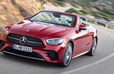 Itt a felfrissített Mercedes E-osztály kupé és kabrió