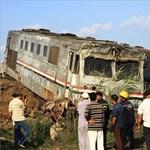 Jelentősen nőtt az egyiptomi vonatbaleset áldozatainak száma