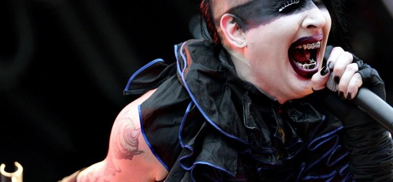 Megfenyegették Marylin Mansont: elmaradt a koncertje