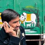Indiában havonta tízmillió mobilt vesznek