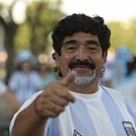 """Maradona, az """"isteni Diego"""" kicselezte az olasz adóhatóságot"""