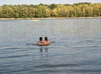 Szombaton legálisan lehet strandolni a Római-parton