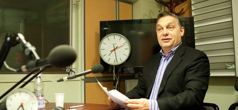 """Orbán a rossz GDP-adatról: """"az európai válság elvitte a magyar növekedést"""""""