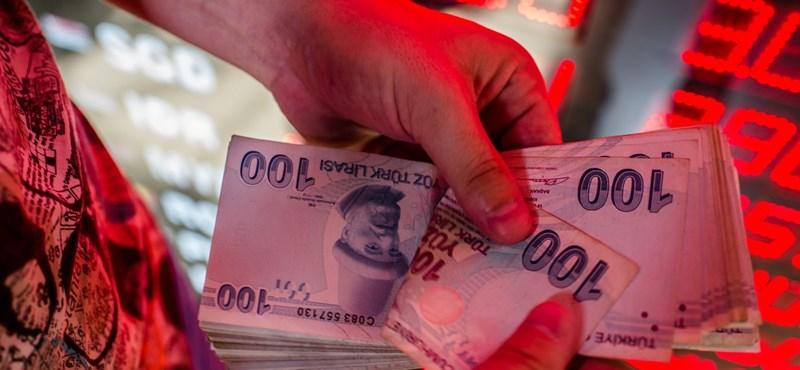 A rendőrséget veti be Erdogan az infláció ellen