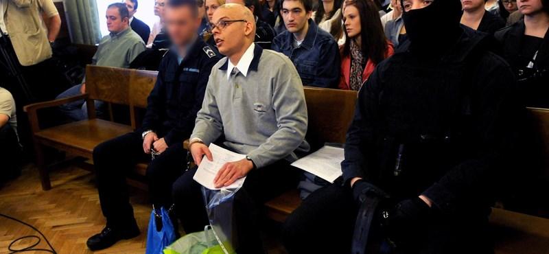S. Ábel már börtönben van, és beszámítható