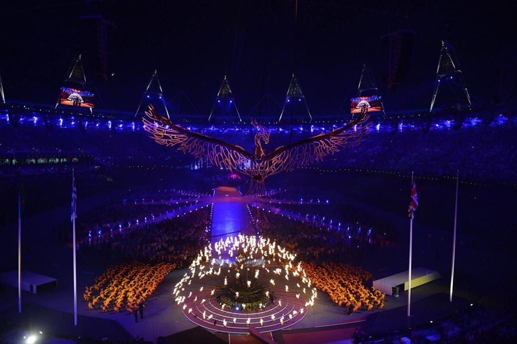 Olimpia 2012 záróünnepség - lo12-záró