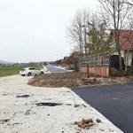A nap fotója: Nem hiszi el, hogy épült új út Pilisvörösváron
