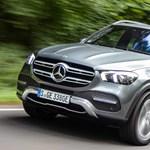 Gázolaj és áram: itt egy dízelhibrid divatterepjáró a Mercedestől