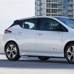 Tovább megy, jobban gyorsul, szélsebesen tölthető a legújabb Nissan Leaf