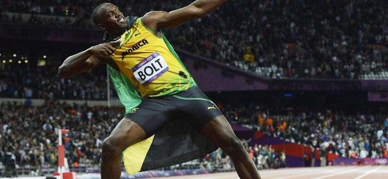 Usain Bolt Facebookon is győzött