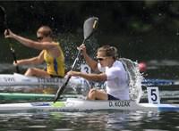 Kajak-kenu-vb: a női kenu kettes ezüst-, Kozák Danuta kajak egyesben bronzérmes