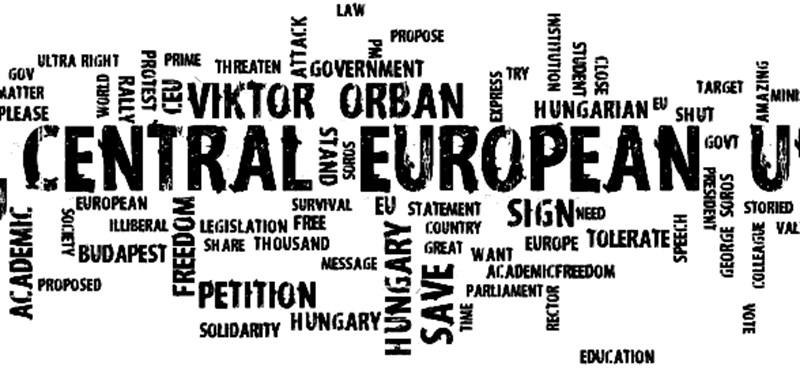 Orbánt és tekintélyelvű rezsimet kiáltanak a CEU-ügyben a netezők