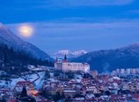 A szlovén városok téli világa utánozhatatlan