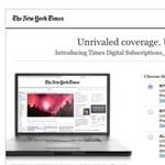 Felezi az ingyenes tartalmat a New York Times