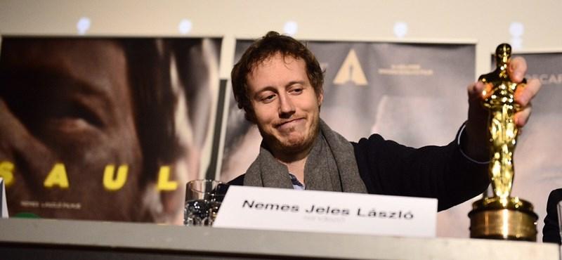 """""""Az Oscar-gála az idiotizmus minősített esete"""" - Saul fia-sajtótájékoztató"""