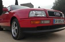 Időkapszula: 2600 kilométerrel árulnak egy 25 éves Audi Coupét