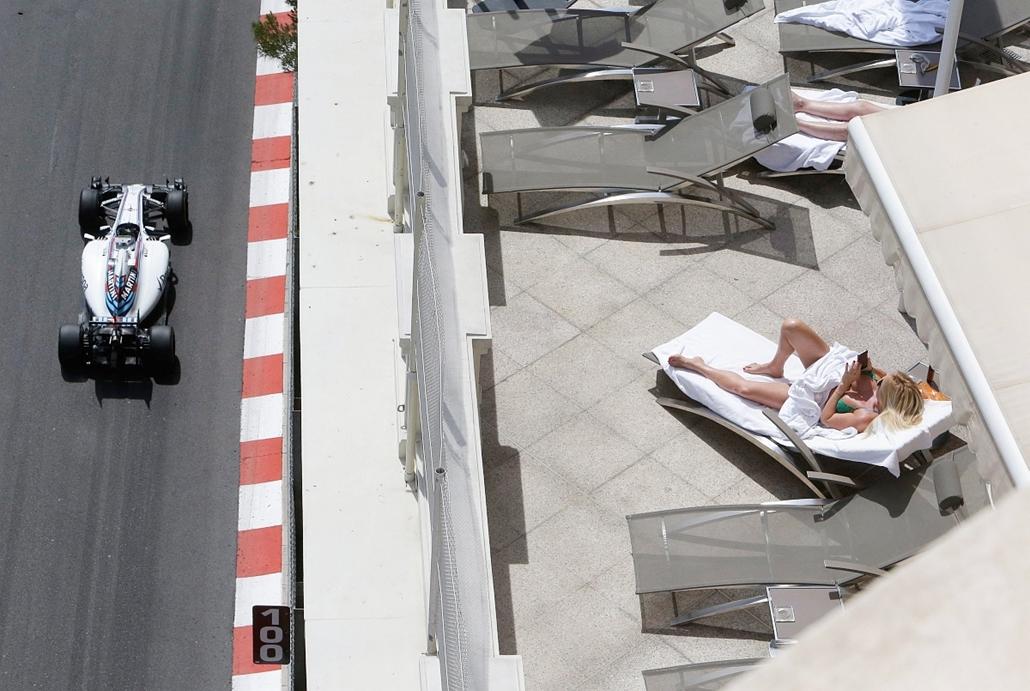 AP_! - júni.9-ig_! 16.05.26. - Monte-Carlo, Monaco Felipe Massa, a Williams brazil versenyzője a Forma-1-es autós gyorsasági világbajnokság Monacói Nagydíjának második szabadedzésén.