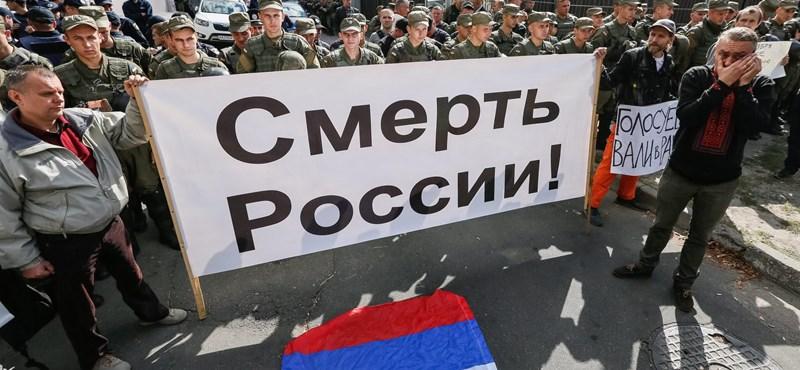 Kijevi rendbontás az oroszországi választás miatt
