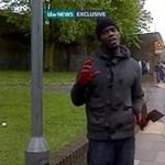 Terror Londonban: lekaszaboltak egy férfit a nyílt utcán