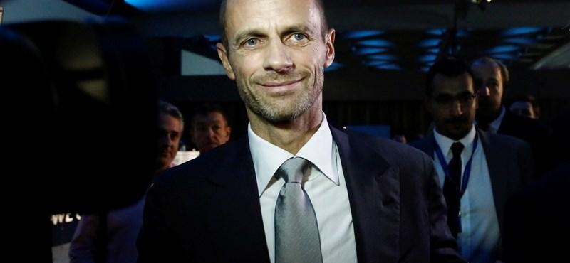 Újraválasztották az UEFA elnökét