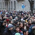 Már csak néhány napot adtak a kormánynak a tüntető diákok