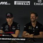 Csak kicsúszott egy káromkodás az F1-es sajtótájékoztatón
