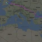 Az indiai gép, ami a frászt hozta pénteken az európai légtérvédelemre – kezdve a magyarral