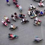 Saigon szívében közlekedni jó? (videó)