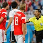 Felnyomott egy bírót Egyiptom a FIFA-nál