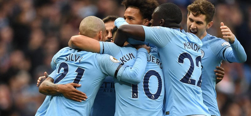 Bajnok lett a Manchester City