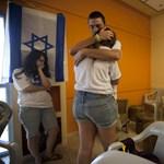 Gilád Salit már Izraelben van