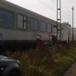Nem sokon múlt: szembement egymással két vonat Dömsödnél