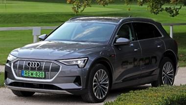 Vigyázat, nagyfeszültség! Teszten az első igazi elektromos Audi