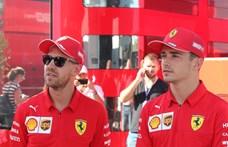 F1: A járványügyi szabályok megszegésén kapták Leclerc-et